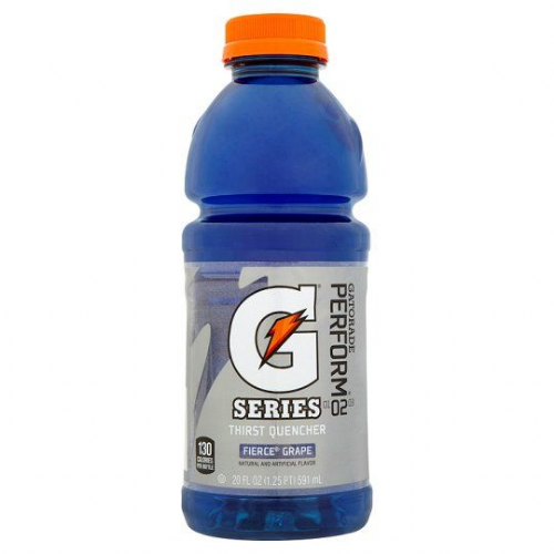 Gatorade Fierce Grape Drink 591Ml